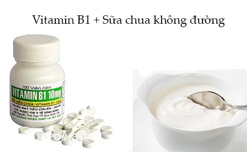 Bất ngờ với hiệu quả tắm trắng bằng cách trộn sữa chua và vitamin B1
