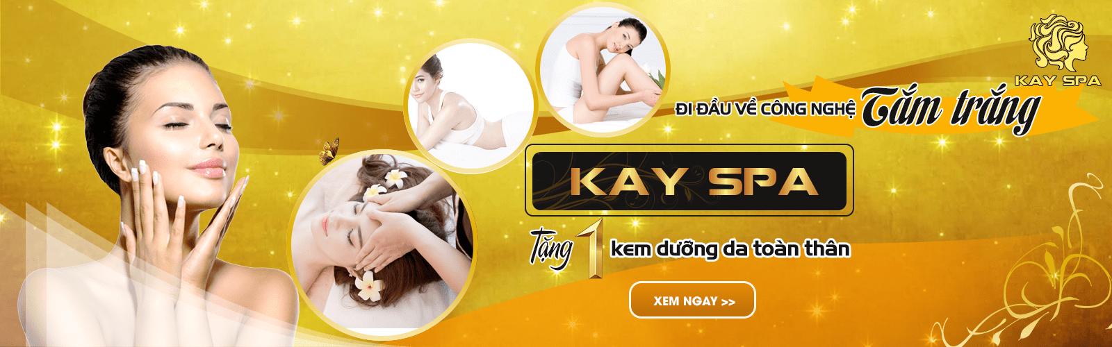 Thông tin cần thiết về dịch vụ tắm trắng Kay Spa