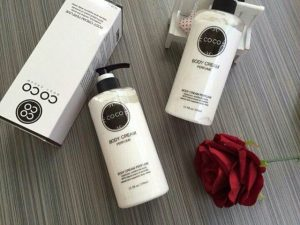 sữa coco perfume body cream