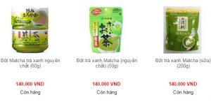 green tea nhật bản
