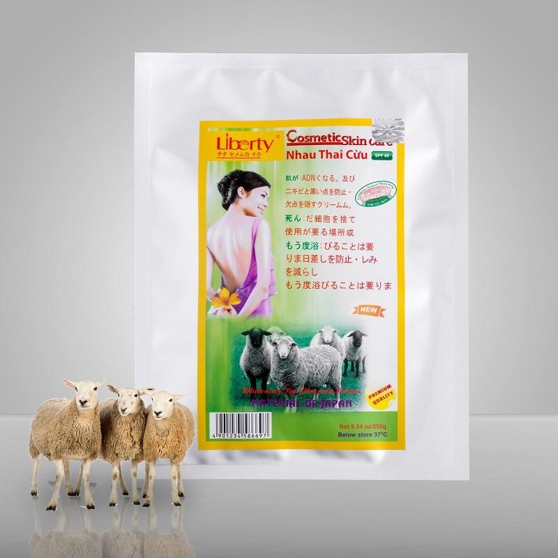 2 sản phẩm tắm trắng có chứa thành phần nhau thai cừu được yêu thích nhất