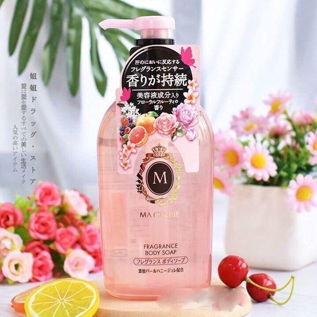 Sữa tắm trắng da Shiseido Macherie Nhật Bản
